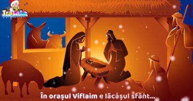 În orașul Viflaim - Colinde noi de Crăciun Versuri